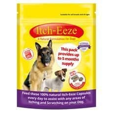 Itch-eeze herbal capsules for dogs